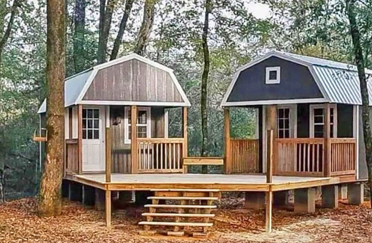 The 'We-Shed' Is a Dual Shed For Him and Her In Azle
