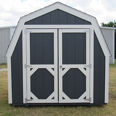 Ranch Barn Style Sheds in Azle